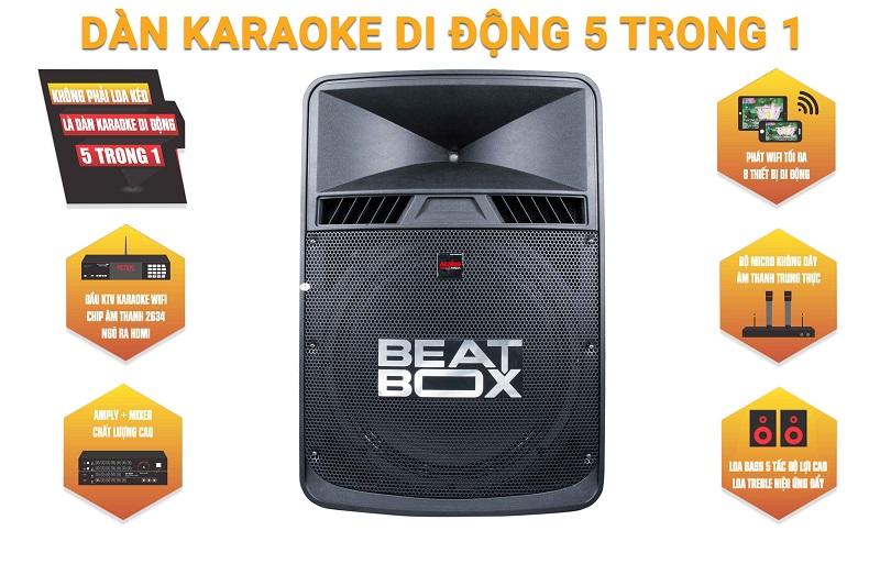 Dàn karaoke di động 5 trong 1