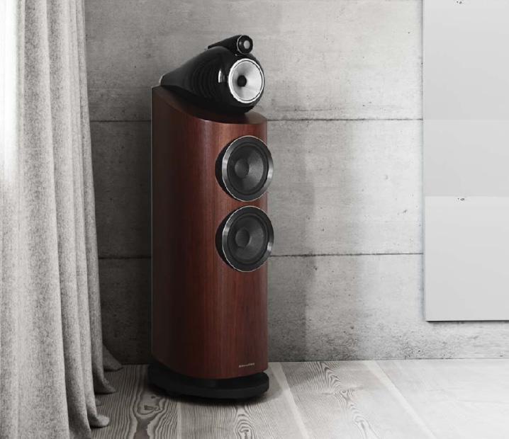 loa B&W 803 D3 (Rosenut) chất âm chuyên nghiệp, cuốn hút