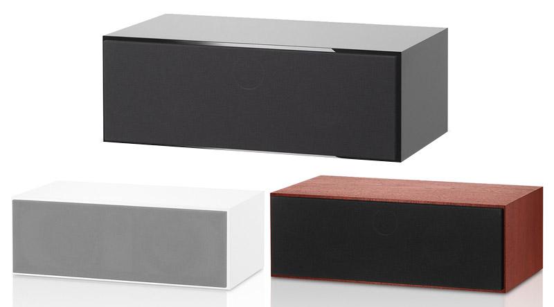 Loa B&W HTM72 S2 (Center) với 3 màu sắc dễ dàng lựa chọn