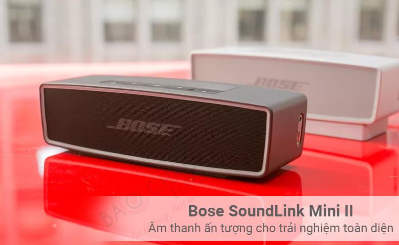 Bose SoundLink Mini II Âm thanh ấn tượng cho trải nghiệm toàn diện