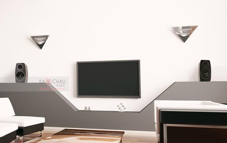 LoaJamo C103 phù hợp với những không gian giải trí gia đình, phục vụ nhu cầu nghe nhạc, xem phim