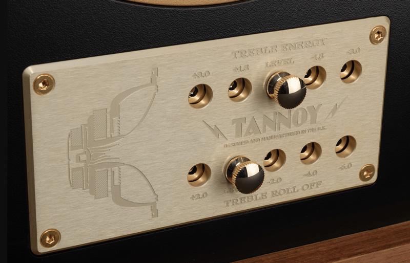 Bảng điều khiển bộ phân tần của loa Tannoy Eaton