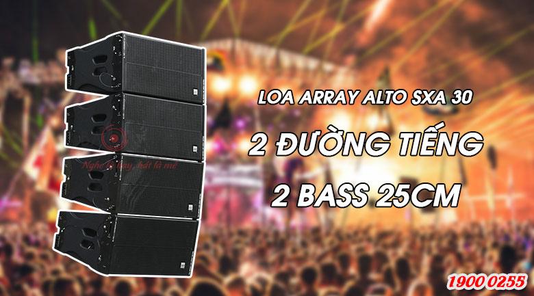 Loa sân khấu Array Alto SXA 30 bass 25 cm hiện đại, giá rẻ nhất