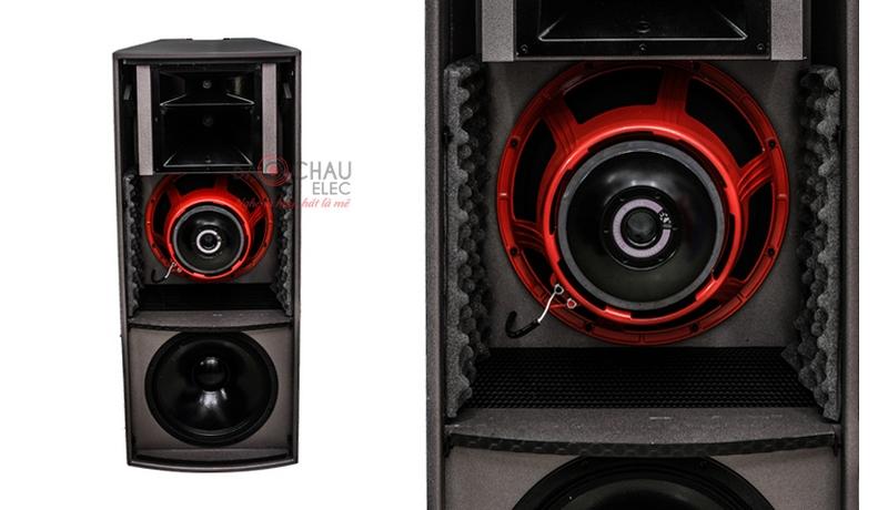 Loa Cat King Pro2.5 trang bị 2 củ bass 40cm