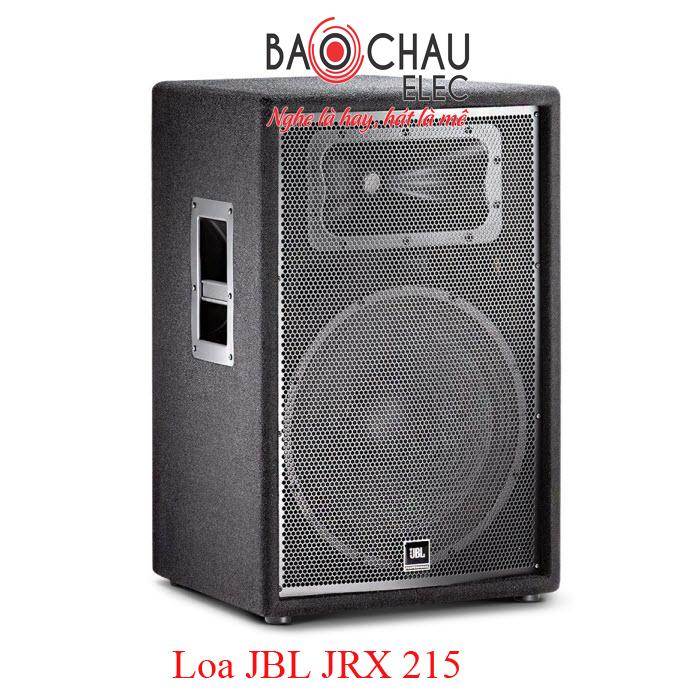 Loa JBL JRX 215 âm thanh sống động, bùng nổ