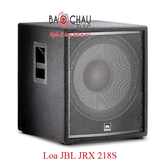 Loa sân khấu JBL JRX 218S công suất mạnh mẽ, âm thanh vượt trội, giá rẻ
