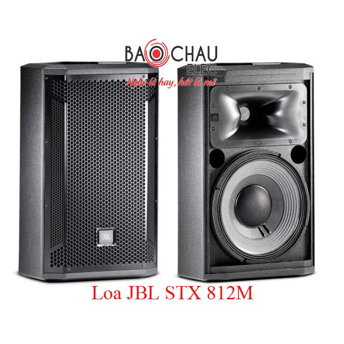 Loa sân khấu JBL STX 812M hiện đại, khỏe khoắn, giá rẻ