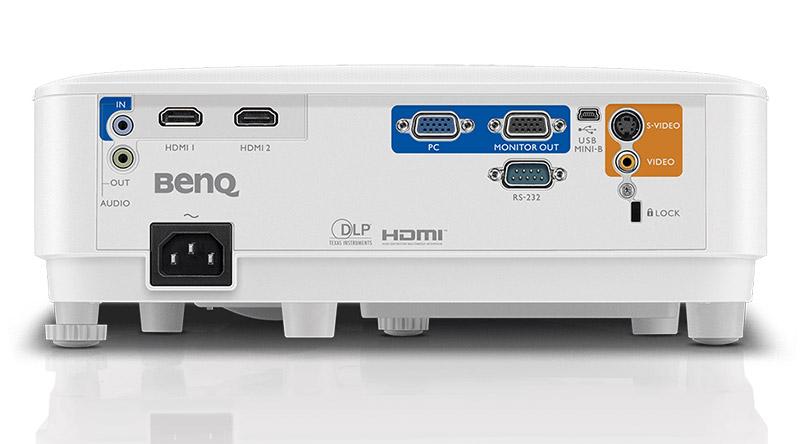 Máy chiếu BenQ MH550 với hệ thống cổng kết nối đa dạng