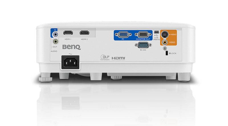 Máy chiếu BenQ MS550 với hệ thống cổng kết nối đa dạng