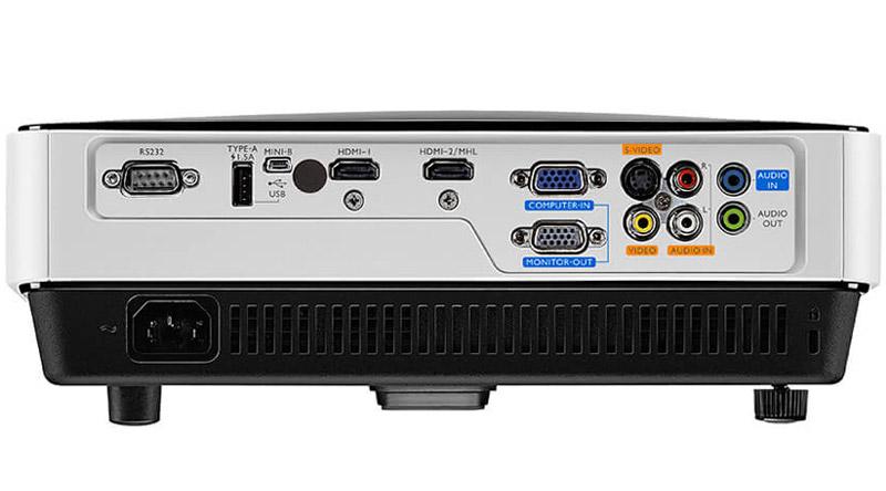 Máy chiếu BenQ MX631ST với hệ thống cổng kết nối linh hoạt