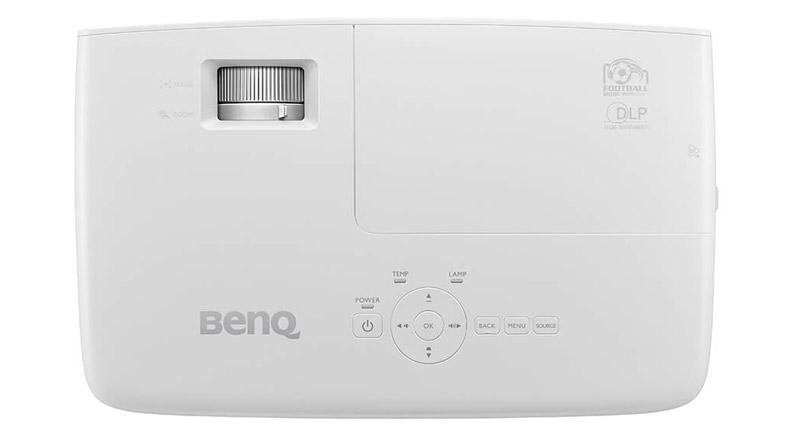 Mặt trên Máy chiếu BenQ TH683 là các phím chức năng