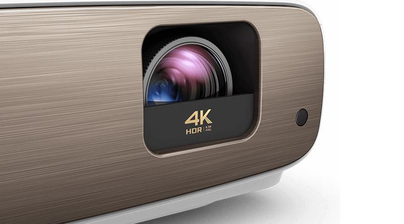 Máy chiếu BenQ W2700 ống kính