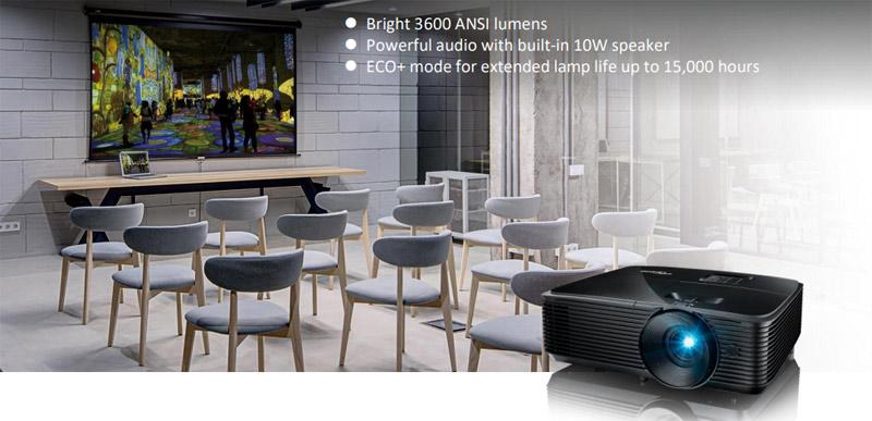 Máy chiếu Optoma SA510 sở hữu nhiều tính năng hiện đại