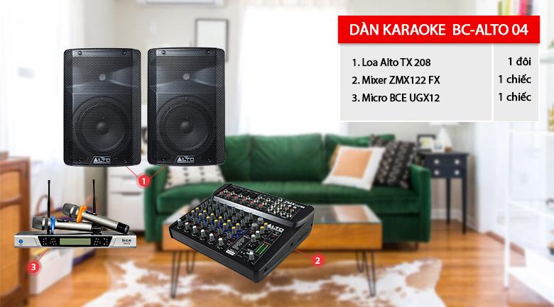Dàn karaoke BC-Alto 04 giá rẻ