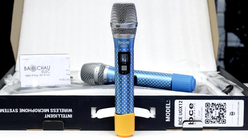 Micro không dây BCE UGX12 Luxury thiết kế đầm tay, chắc chắn