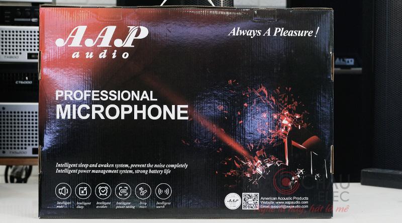 Micro không dây AAP-K500 sang trọng, lịch sự