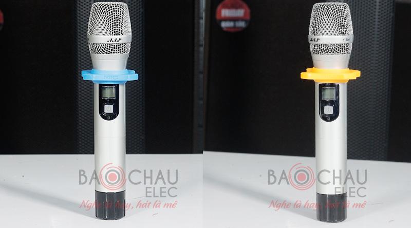 Micro không dây AAP K500 tự ngắt thông minh, bắt sóng xa, hát hay