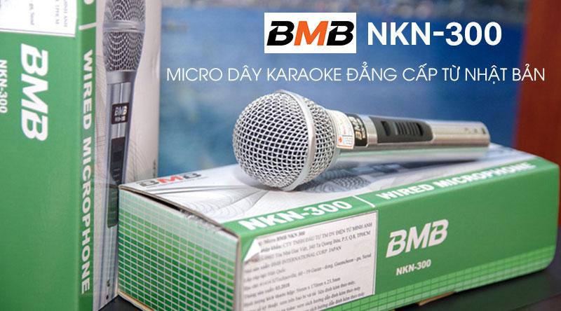 Micro có dây BMB NKN300 đẳng cấp từ thương hiệu Nhật Bản
