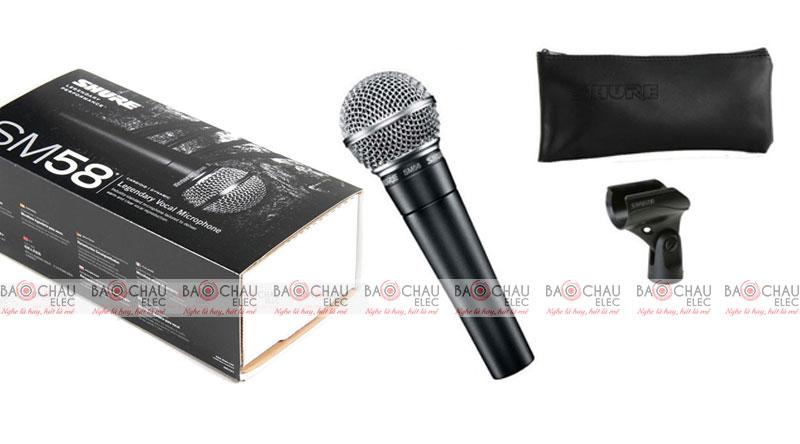 Micro có dây Shure SM58-LC giá rẻ nhất thị trường