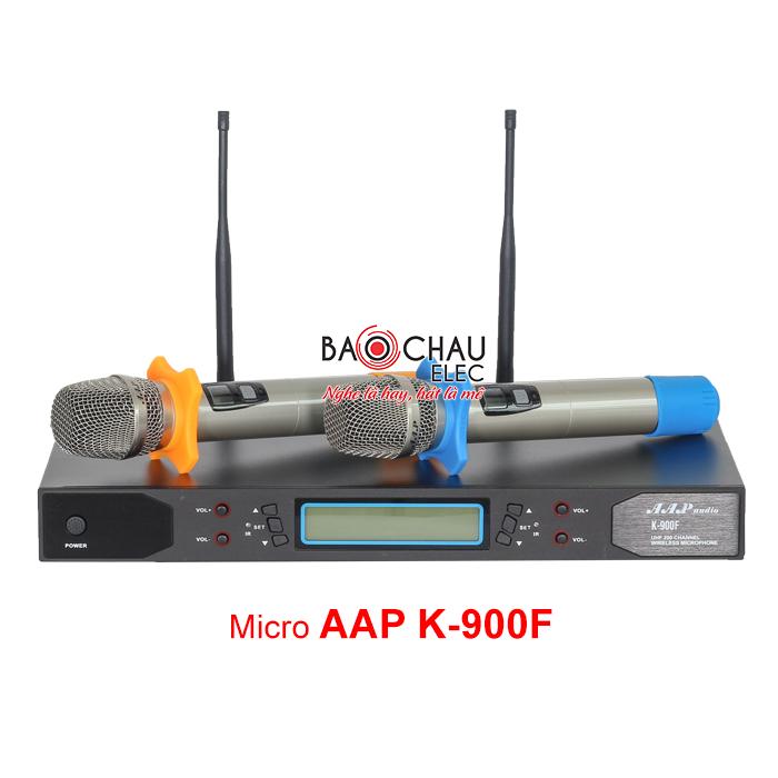 Micro không dây AAP K900F chống hú tốt, giá rẻ nhất