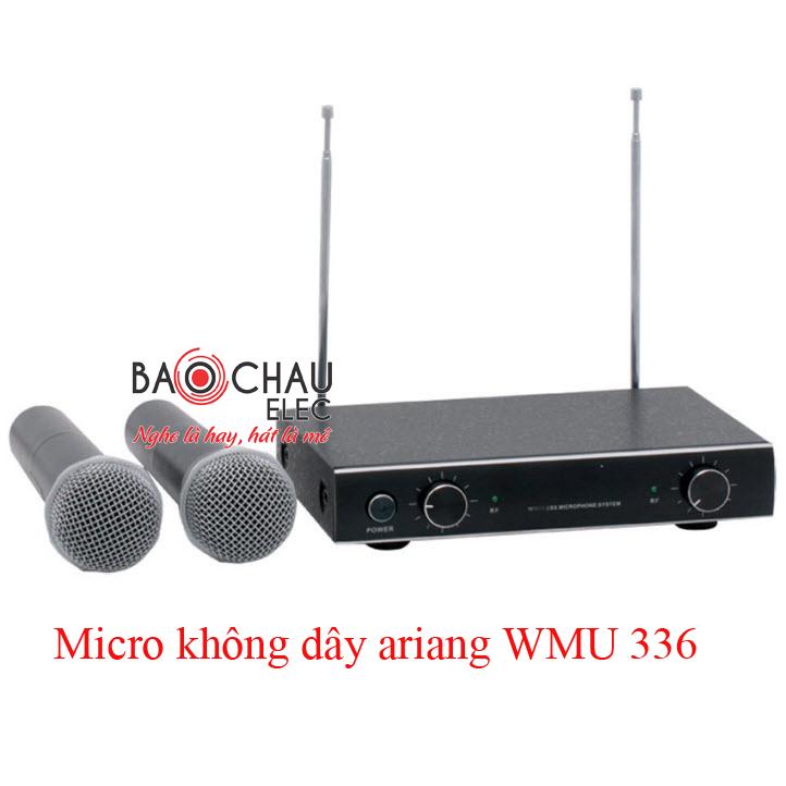 Micro không dây WMU 336 chính hãng, giá rẻ