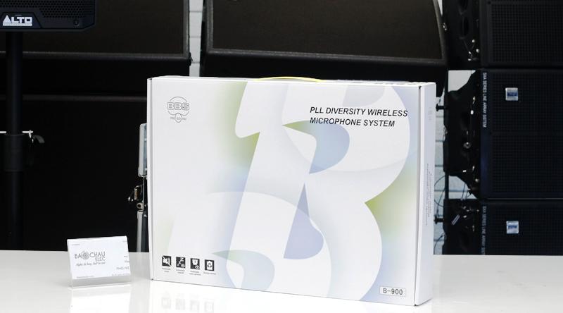 Vỏ sản phẩm Micro không dây BBS B900 trang nhã, tinh tế