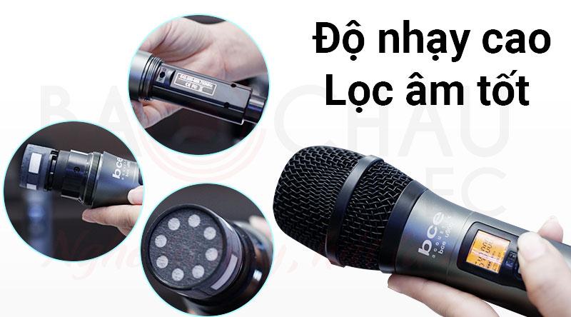 Micro không dây bce u900 độ nhạy cao