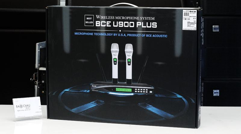 Micro không dây BCE U900 Plus New có hộp tiện lợi