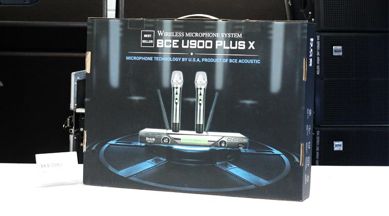 Micro không dây BCE U900 Plus X - một trong những sản phẩm micro bán chạy nhất tại Bảo Châu Elec