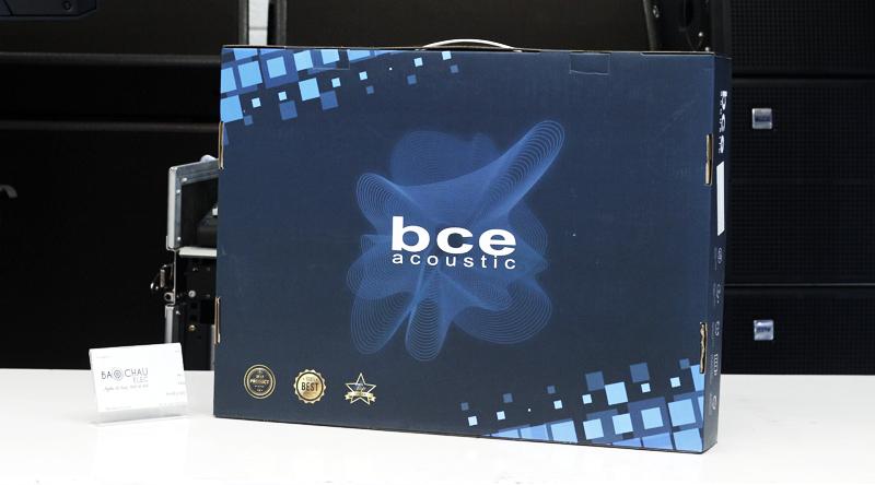 Vỏ hộp sản phẩm Micro không dây BCE UGX12 Gold lịch sự và đẹp mắt