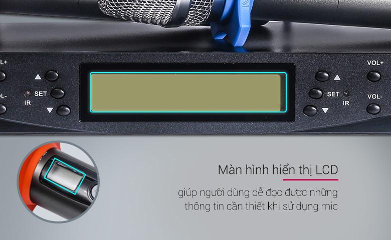 Micro không dây BCE UGX12 plus chống hú tốt