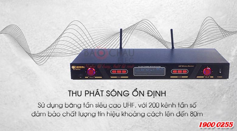 Micro không dây BIK BJ-U355 thu phát sóng ổn định