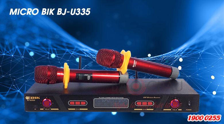 Micro không dây BIK BJ-U355 sang trọng, tinh tế