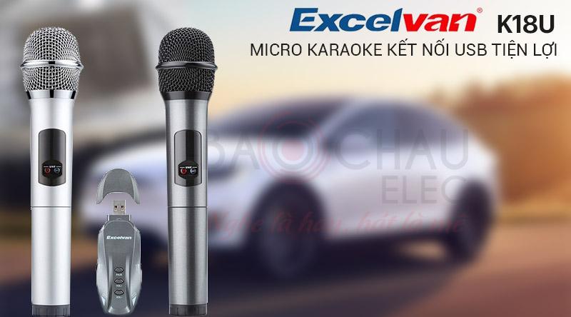Micro không dây Excelvan K18U
