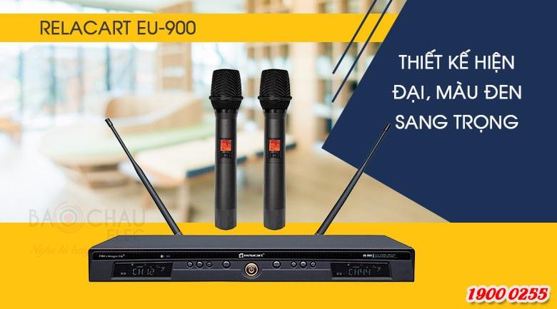 Micro không dâyRelacart EU-900MHthiết kế hiện đại, sang trọng