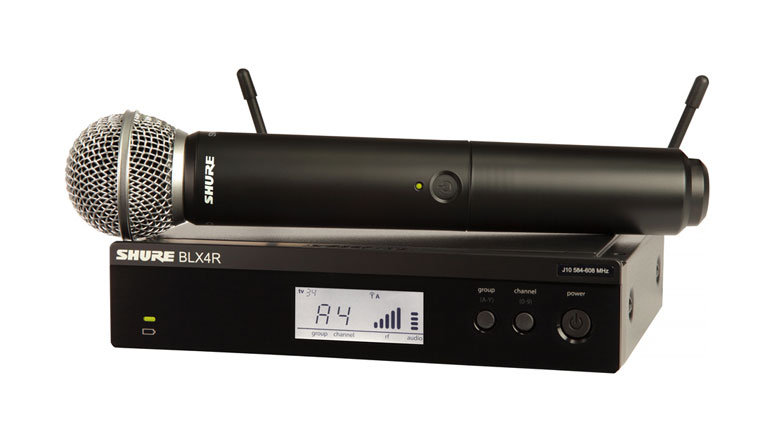 Micro Shure BLX24RA/SM58 hát cực hay