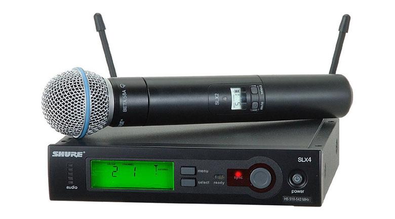 Micro Shure SLX24A/Beta58 hát cực hay, giá cực tốt