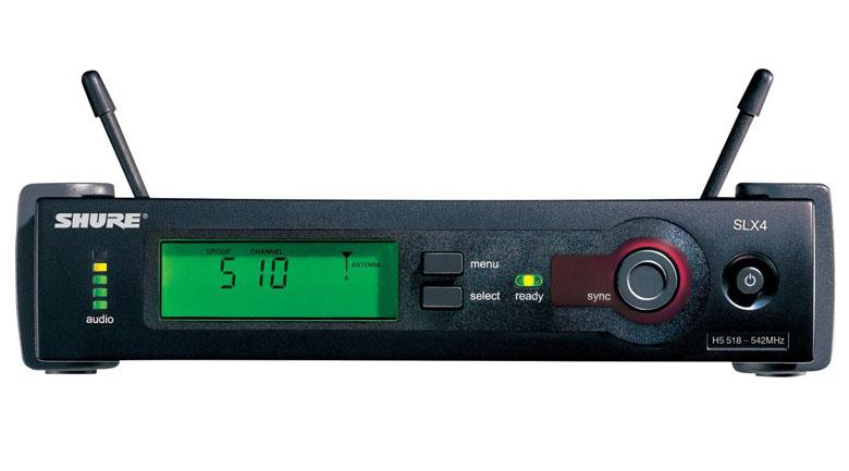 Đầu thu của bộ micro Shure SLX24A/SM58