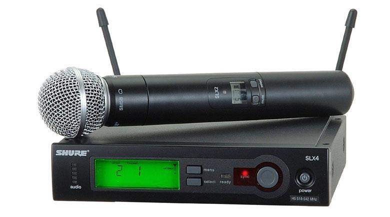 Micro Shure SLX24A/SM58 (1 mic) nhỏ gọn, sang trọng