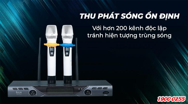Micro không dây BCE U900 Plus X thu phát sóng ổn định