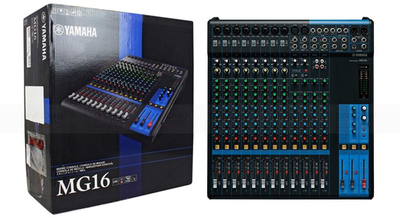 Bàn mixer Yamaha MG16XU được áp dụng những công nghệ mới