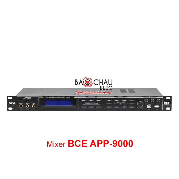 Mixer BCE APP 9000 xử lý âm thanh hiệu quả, giá rẻ