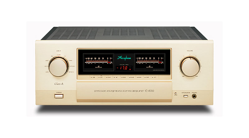 Power Amply Accuphase E-650 hiện đại, cao cấp