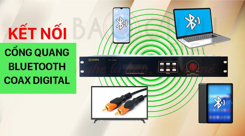 Vang số 7.1 BIK BPC-R300+ độ tương thích cao với nhiều thiết bị âm thanh