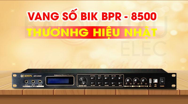 Vang số BIK BPR-8500 hiện đại, chính hãng