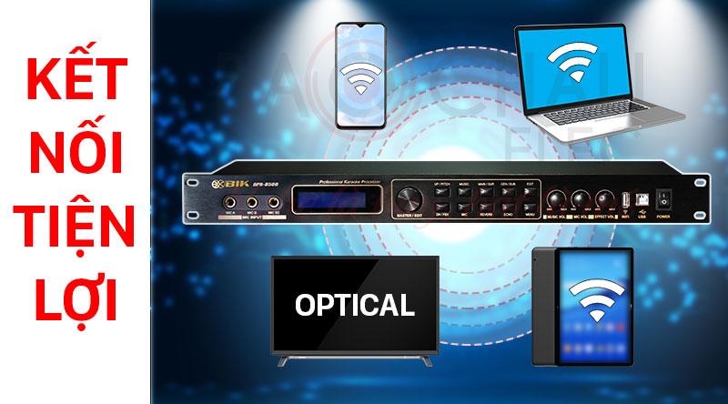 Vang số BIK BPR-8500 kết nối không dây dễ dàng