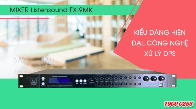 Vang số chỉnh cơ Listensound FX-9MK - mảnh ghép hoàn hảo cho dàn âm thanh chuyên nghiệp
