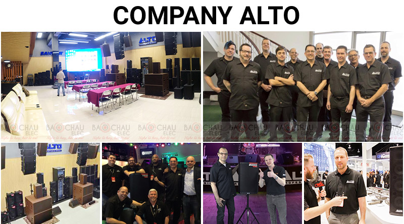 Đội ngũ nhân sự công ty Alto