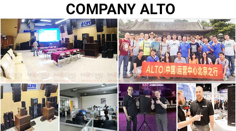 giới thiệu hãng loa Alto bán chạy số 1 hiện nay
