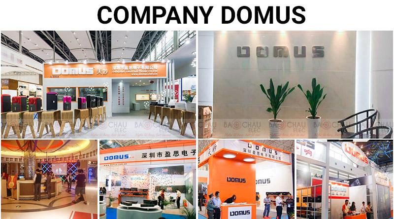 Giới thiệu hãng loa Domus